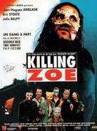 Killing Zoe - French Movie Poster (xs thumbnail)