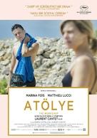 L'atelier - Turkish Movie Poster (xs thumbnail)
