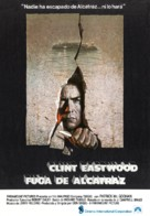 Escape From Alcatraz - Spanish Movie Poster (xs thumbnail)