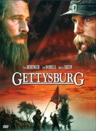 Gettysburg - DVD movie cover (xs thumbnail)