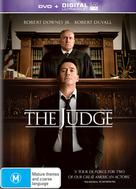 The Judge - Australian DVD cover (xs thumbnail)