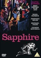 Sapphire - British DVD cover (xs thumbnail)