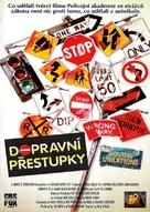 Moving Violations - Czech VHS cover (xs thumbnail)