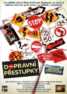 Moving Violations - Czech VHS movie cover (xs thumbnail)