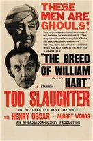The Greed of William Hart - British Movie Poster (xs thumbnail)
