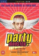 Party Monster - British DVD cover (xs thumbnail)