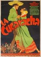 La Cucaracha - Danish Movie Poster (xs thumbnail)