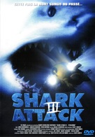 Shark Attack 3: Megalodon - French DVD cover (xs thumbnail)