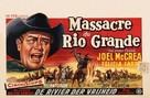 The First Texan - Belgian Movie Poster (xs thumbnail)