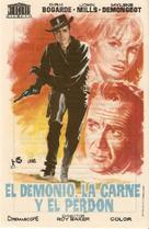 The Singer Not the Song - Spanish Movie Poster (xs thumbnail)