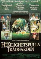 The Secret Garden - Swedish Movie Poster (xs thumbnail)