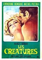 Les créatures - Italian Movie Poster (xs thumbnail)