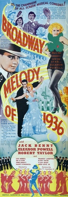 Broadway Melody of 1936 - Movie Poster (xs thumbnail)