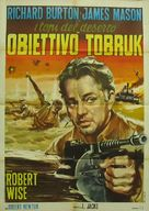 The Desert Rats - Italian Movie Poster (xs thumbnail)