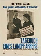 Journal d'un curé de campagne - German Movie Poster (xs thumbnail)