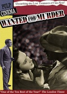 Wanted for Murder - DVD cover (xs thumbnail)