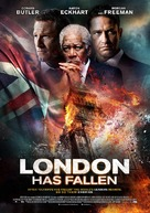 London Has Fallen - Dutch Movie Poster (xs thumbnail)