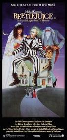 Beetle Juice - Australian Movie Poster (xs thumbnail)