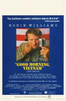 Good Morning, Vietnam - Belgian Movie Poster (xs thumbnail)