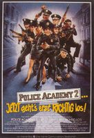 Police Academy 2: Their First Assignment - German Movie Poster (xs thumbnail)