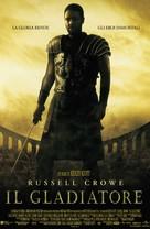 Gladiator - Italian Movie Poster (xs thumbnail)
