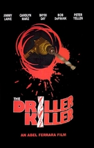 The Driller Killer - German DVD cover (xs thumbnail)