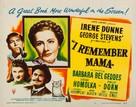 I Remember Mama - Movie Poster (xs thumbnail)