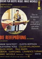 The Graduate - German Movie Poster (xs thumbnail)