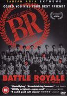 Battle Royale - British DVD cover (xs thumbnail)