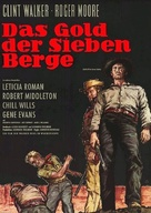Gold of the Seven Saints - German Movie Poster (xs thumbnail)