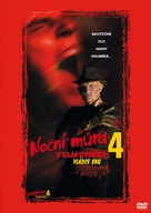 A Nightmare on Elm Street 4: The Dream Master - Czech Movie Cover (xs thumbnail)