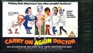 Carry On Again Doctor - British VHS movie cover (xs thumbnail)