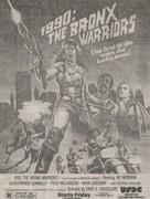 1990: I guerrieri del Bronx - poster (xs thumbnail)