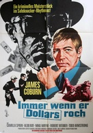 Dead Heat on a Merry-Go-Round - German Movie Poster (xs thumbnail)