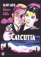 Calcutta - Danish Movie Poster (xs thumbnail)