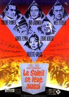 The Sun Also Rises - French Movie Poster (xs thumbnail)