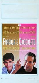 Fresa y chocolate - Italian Movie Poster (xs thumbnail)