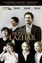 Monsieur Lazhar - DVD cover (xs thumbnail)