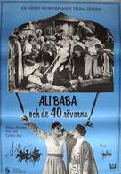 Ali Baba and the Forty Thieves - Swedish Movie Poster (xs thumbnail)