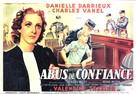 Abus de confiance - French Movie Poster (xs thumbnail)