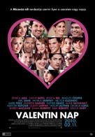 Valentine's Day - Hungarian Movie Poster (xs thumbnail)