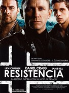 Defiance - Spanish Movie Poster (xs thumbnail)