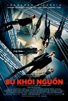Inception - Vietnamese Movie Poster (xs thumbnail)