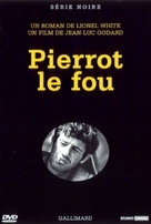 Pierrot le fou - French DVD movie cover (xs thumbnail)