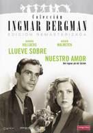 Det regnar på vår kärlek - Spanish DVD cover (xs thumbnail)