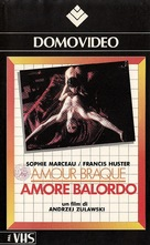 L'amour braque - Italian VHS movie cover (xs thumbnail)
