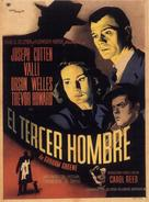 The Third Man - Mexican Movie Poster (xs thumbnail)