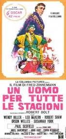 A Man for All Seasons - Italian Movie Poster (xs thumbnail)