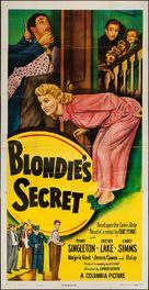 Blondie's Secret - Movie Poster (xs thumbnail)