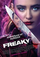 Freaky - German Movie Poster (xs thumbnail)